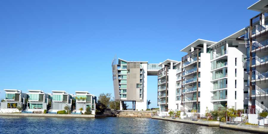 Water front development project