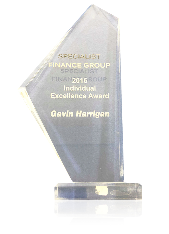 Specialist finance group individual excellence award
