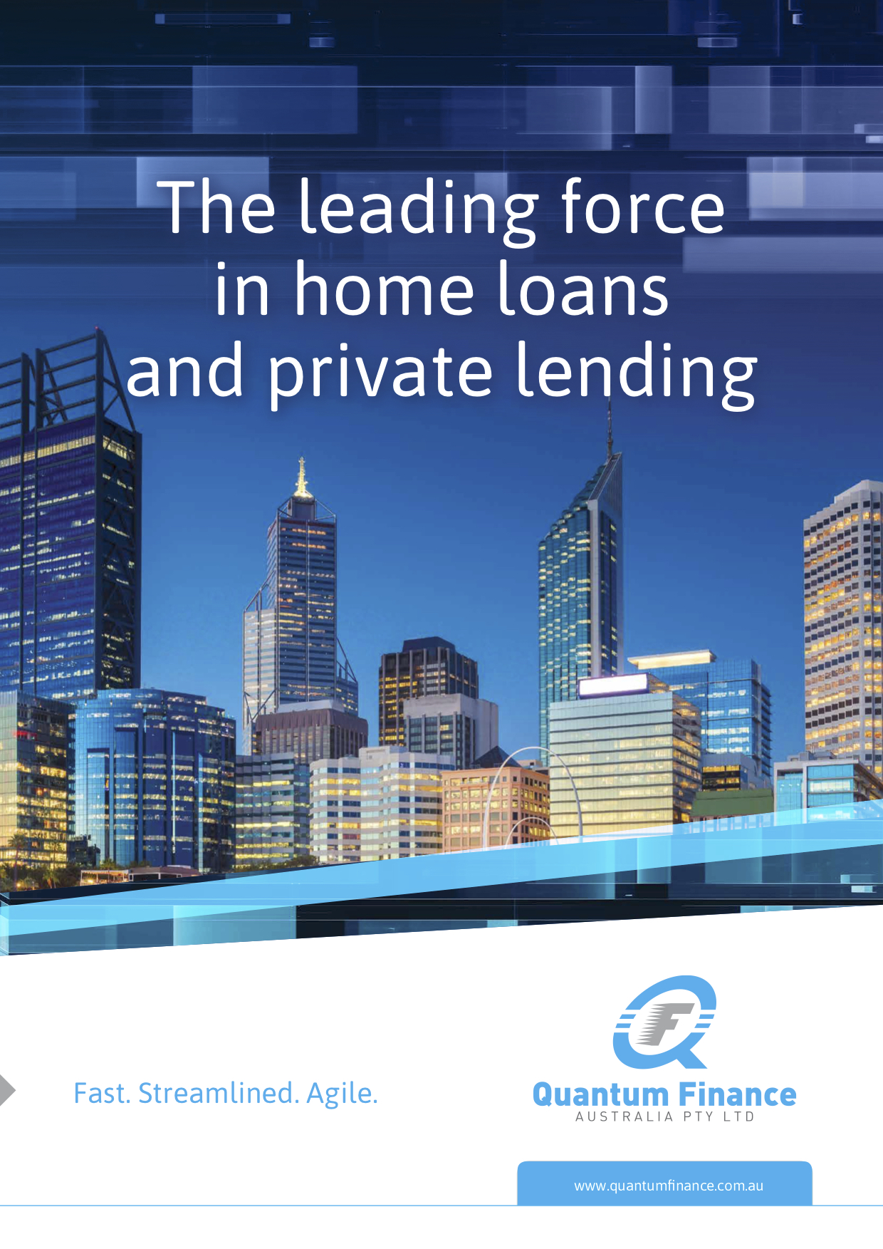 The Quantum Finance Australia Company Profile for facilitating home finance and private lending solutions