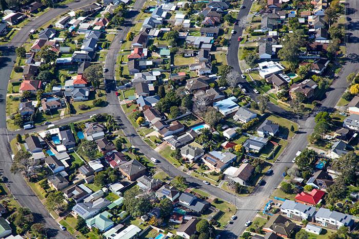 australian suburbia investment