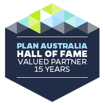 Plan Australia Excellence in Finance.