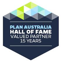 Plan Australia Hall of fame member Gavin Harrigan.