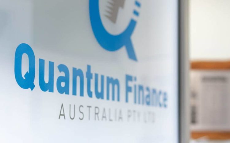 The door to the Quantum Finance Australia office.